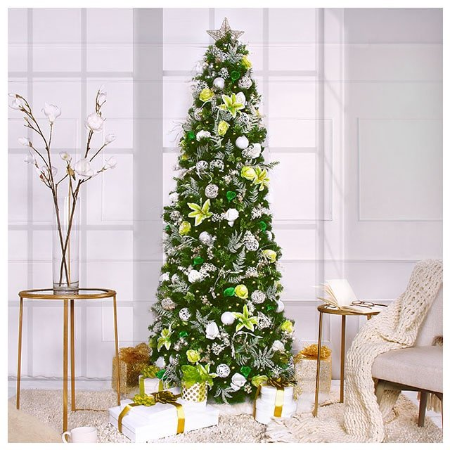 Deluxe 7 5ft Easy Artificial Christmas Tree