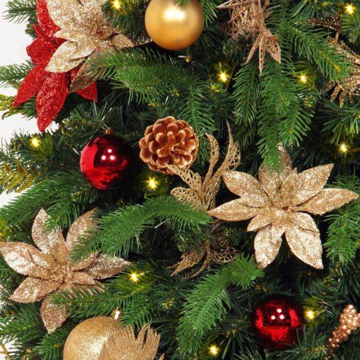 Refurbished Easy Setup Christmas Tree - 5.5 Feet Mini