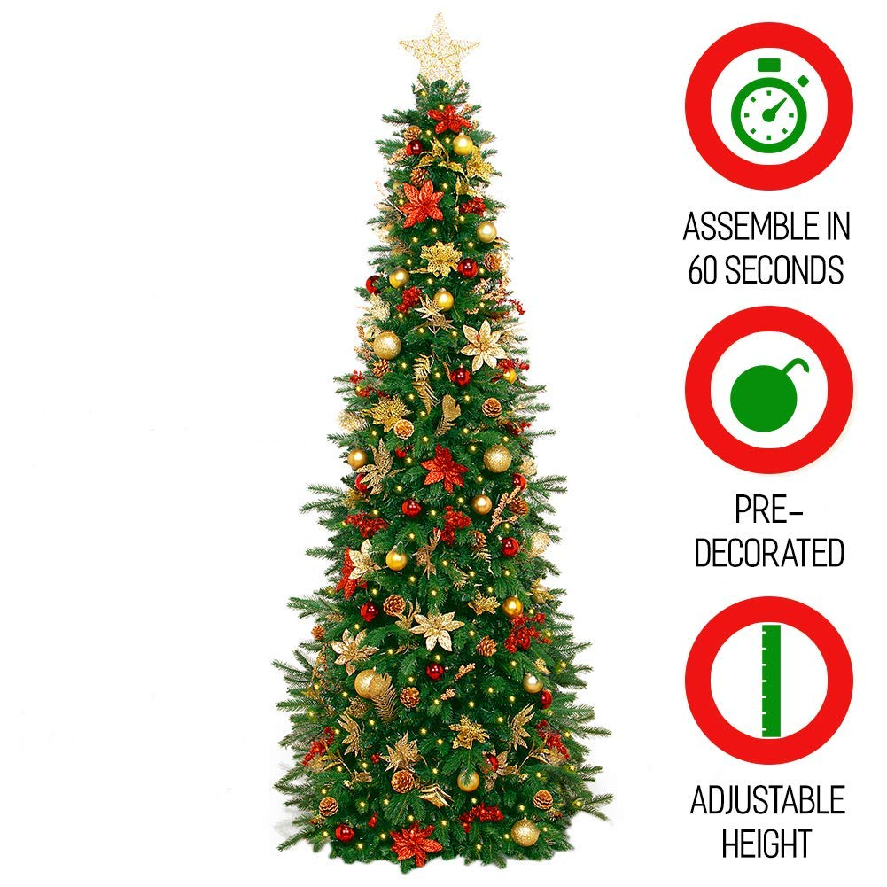 Christmas Trees Images.Designer Pre Decorated Christmas Tree