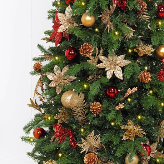 best loved 26c15 e1677 Designer Pre-Decorated Christmas Tree