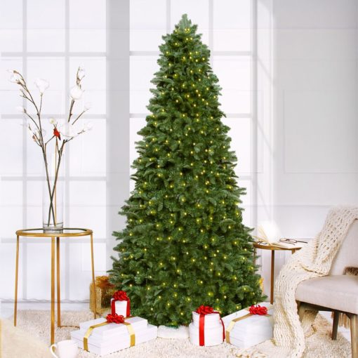 Signature Deluxe<br>Pre-Lit Narrow Tree - 7.5ft