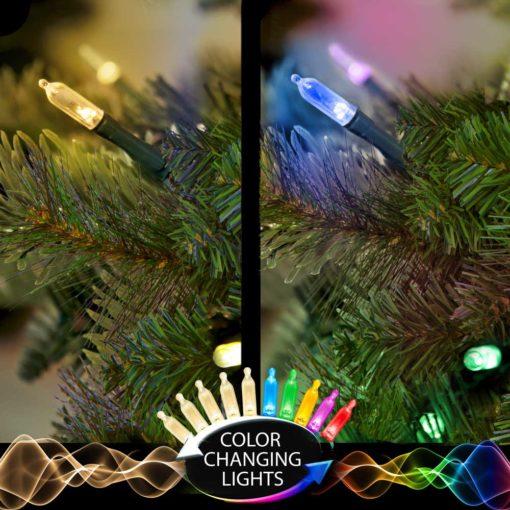 Refurbished Easy Setup Christmas Tree - 7.5 Feet
