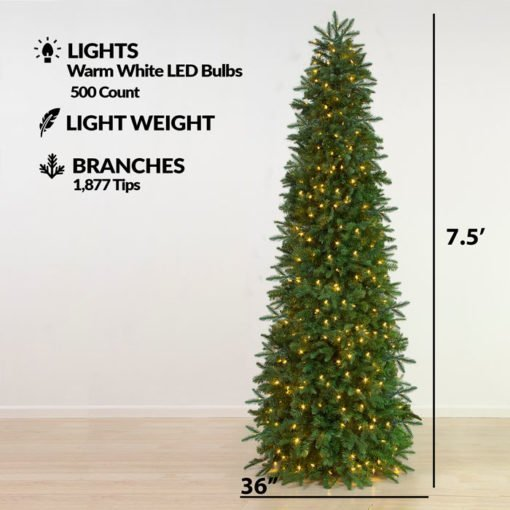Easy Setup Christmas Tree - 7.5 Feet